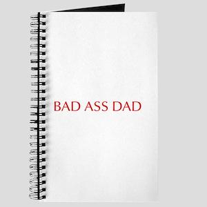 Bad ass dad-Opt red 550 Journal