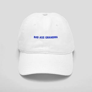 Bad Ass Grandma-Akz blue 500 Baseball Cap