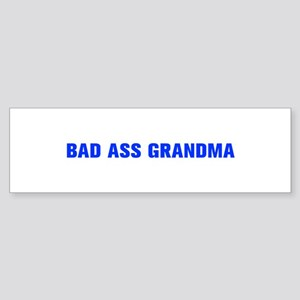Bad Ass Grandma-Akz blue 500 Bumper Sticker