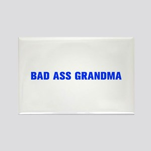 Bad Ass Grandma-Akz blue 500 Magnets