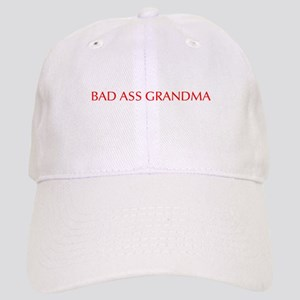 Bad Ass Grandma-Opt red 550 Baseball Cap