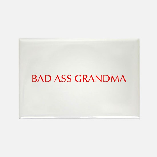 Bad Ass Grandma-Opt red 550 Magnets