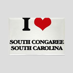 I love South Congaree South Carolina Magnets