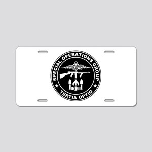 SOG - Tertia Optio (BW) Aluminum License Plate