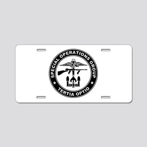 SOG - Tertia Optio (B) Aluminum License Plate