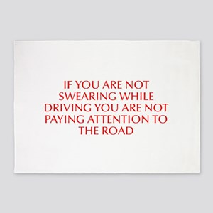 If you are not swearing while driving you are not