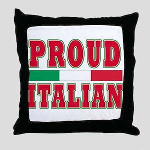 Proud Italian Dad Throw Pillow