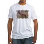 Wild Whitetail 1 Fitted T-Shirt