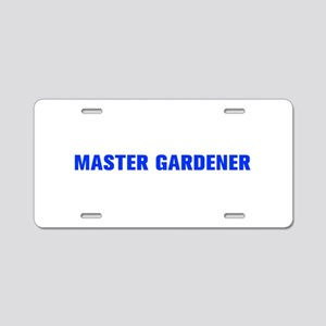 Master Gardener-Akz blue 500 Aluminum License Plat