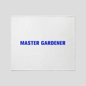 Master Gardener-Akz blue 500 Throw Blanket