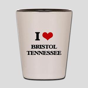 I love Bristol Tennessee Shot Glass