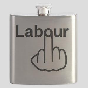 Labour Flip Flask