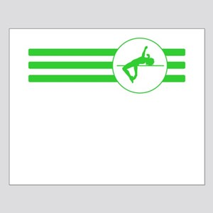 High Jump Stripes (Green) Posters