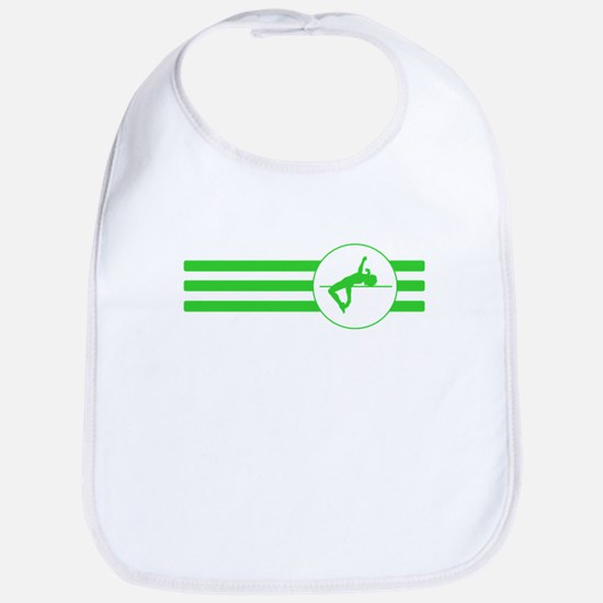 High Jump Stripes (Green) Bib