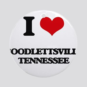 I love Goodlettsville Tennessee Ornament (Round)