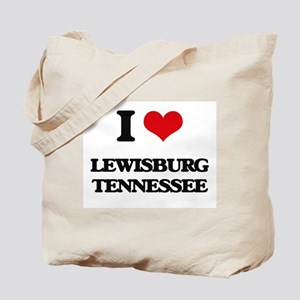 I love Lewisburg Tennessee Tote Bag