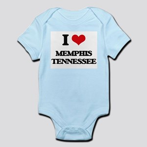 I love Memphis Tennessee Body Suit