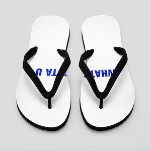 Whatsamatta U-Akz blue 500 Flip Flops