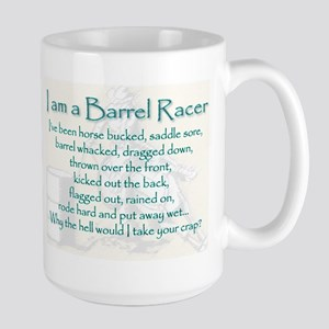 I Am A Barrel Racer Mugs