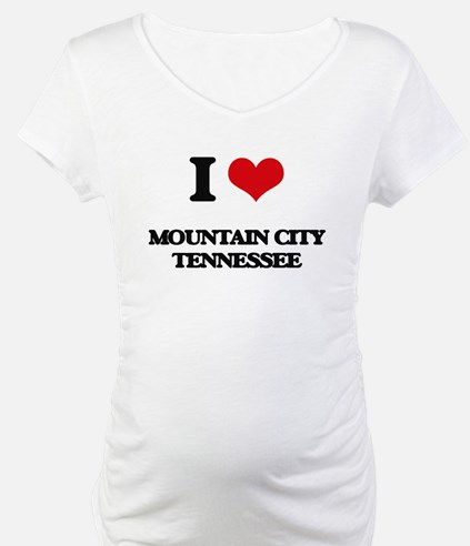 I love Mountain City Tennessee Shirt