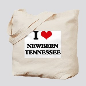 I love Newbern Tennessee Tote Bag