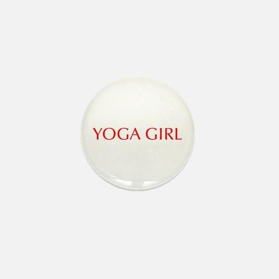 Yoga Girl-Opt red 550 Mini Button