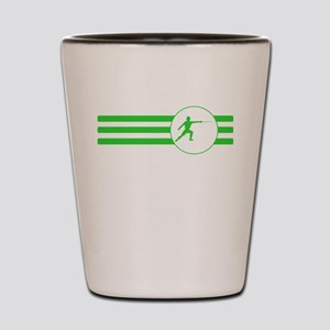 Fencer Stripes (Green) Shot Glass