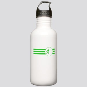 Fencer Stripes (Green) Water Bottle