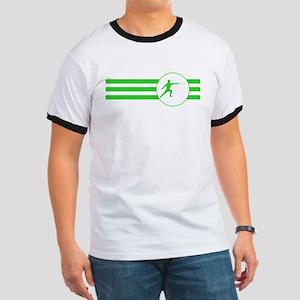 Fencer Stripes (Green) T-Shirt