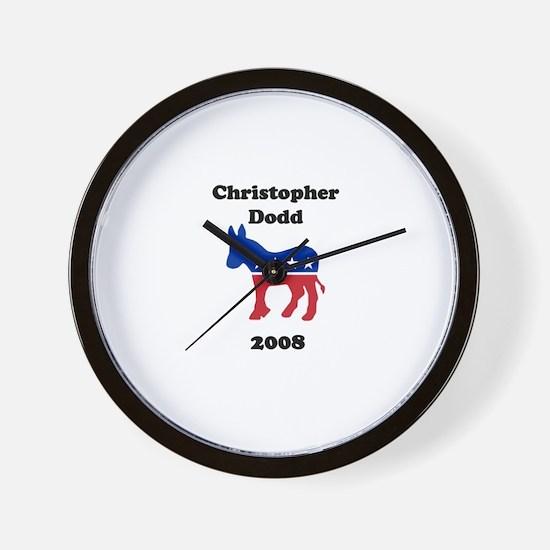 Christopher Dodd Wall Clock