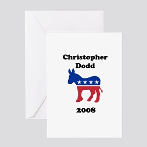 Christopher Dodd Greeting Card
