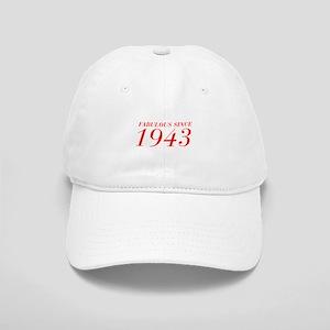 FABULOUS SINCE 1943-Bod red 300 Baseball Cap