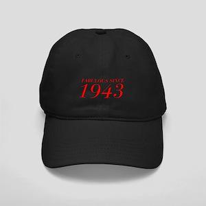 FABULOUS SINCE 1943-Bod red 300 Baseball Hat