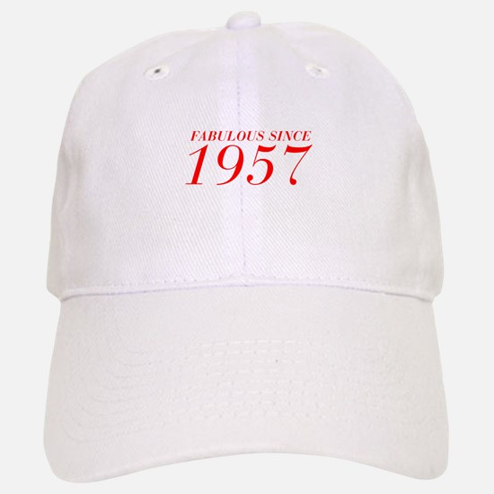 FABULOUS SINCE 1957-Bod red 300 Baseball Baseball Baseball Cap
