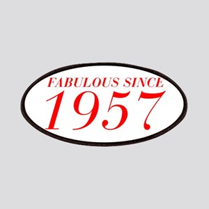 FABULOUS SINCE 1957-Bod red 300 Patch