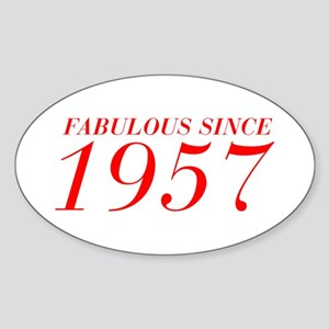 FABULOUS SINCE 1957-Bod red 300 Sticker