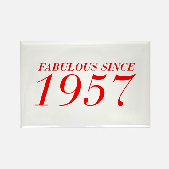 FABULOUS SINCE 1957-Bod red 300 Magnets