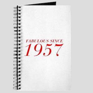 FABULOUS SINCE 1957-Bod red 300 Journal