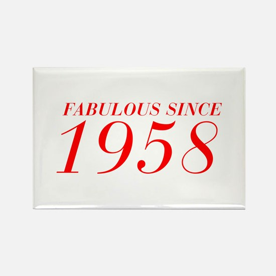 FABULOUS SINCE 1958-Bod red 300 Magnets
