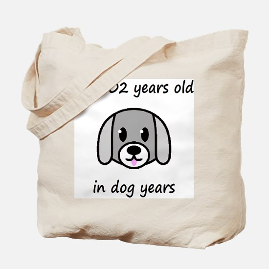 86 dog years 2 Tote Bag