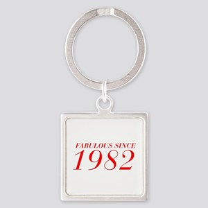 FABULOUS SINCE 1982-Bod red 300 Keychains