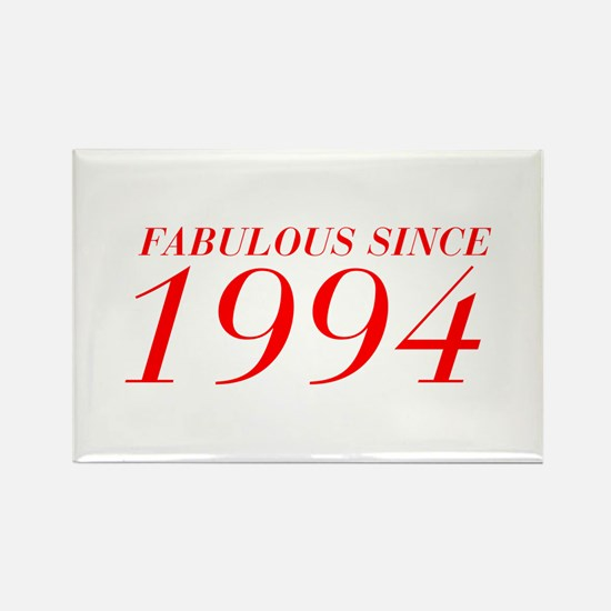 FABULOUS SINCE 1994-Bod red 300 Magnets