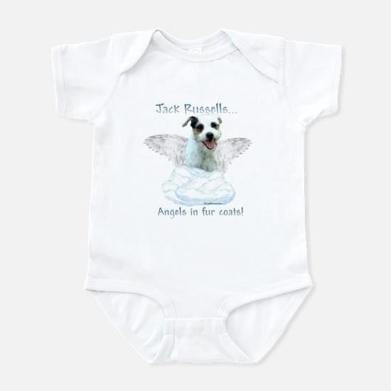 Jack Russell Angel Infant Bodysuit