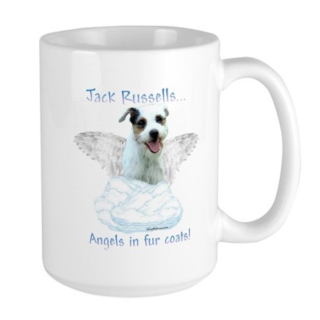 Jack Russell Angel Large Mug