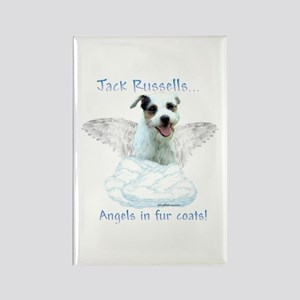 Jack Russell Angel Rectangle Magnet