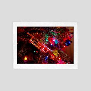 Musical Holiday 5'x7'Area Rug