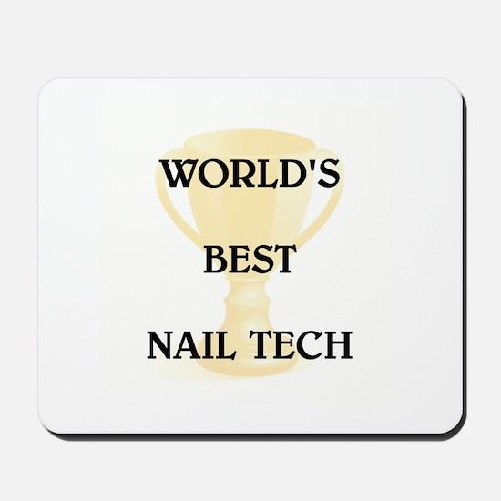 NAIL TECH Mousepad
