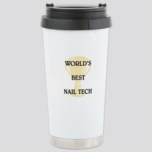 NAIL TECH Stainless Steel Travel Mug