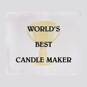 CANDLE MAKER Throw Blanket