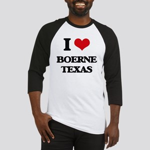 I love Boerne Texas Baseball Jersey